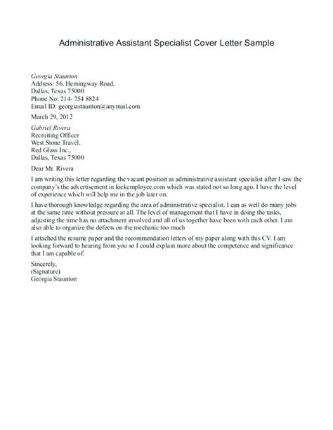 office administrator cover letter no experience sle cover letter for office administrator resume for