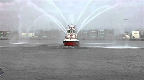largest fire boat world s biggest fire boat youtube