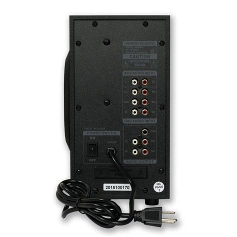 acoustic audio   channel home theater surround