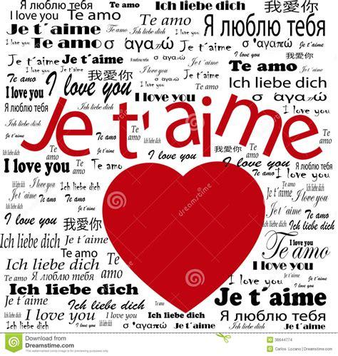 imagenes de te amo en diferentes idiomas coraz 243 n te amo en idiomas imagenes de archivo imagen