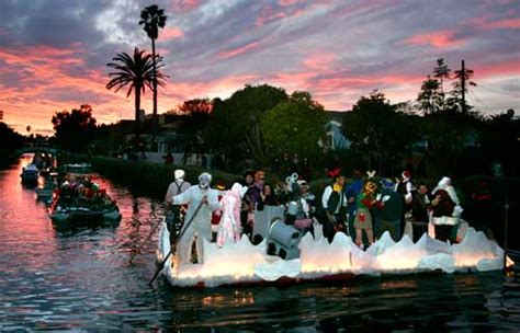 venice canals lights venice canals boat parade floats to the tune of