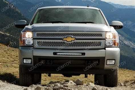 2010 chevy silverado lights 100w led light bar system combo 11 13 chevy silverado