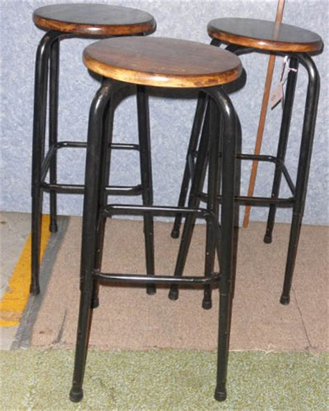 Bar Stools For Sale by 3 Vintage Bar Stools B5284 For Sale Antiques