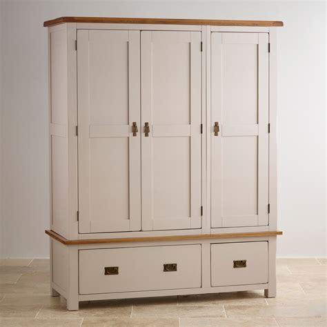 Wardrobe Uk Sale by Kemble Solid Oak Painted Wardrobe
