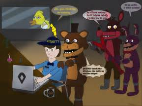 Fnaf situation by adrianoxish on deviantart