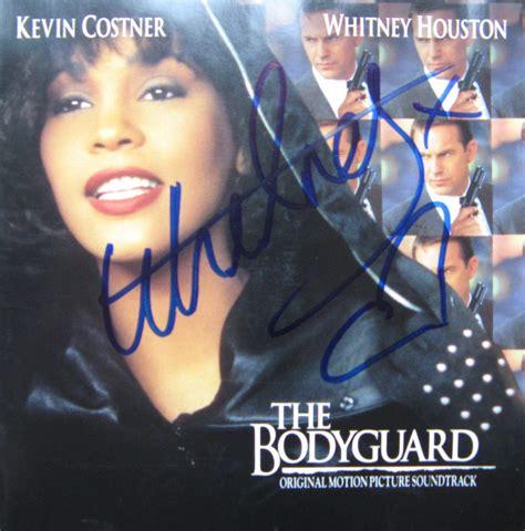 Cd Houston Ost The Bodyguard houston autograph autographs collectibles memorabilia