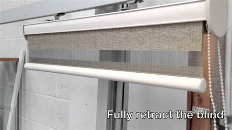 Day Night Double Blind Vision Duo Roller Blind Quick Demo Youtube