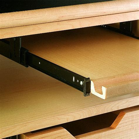 Floor Mounted Drawer Slides by Knape Vogt Kv 8157 3 4 Extension Top Mounted Drawer