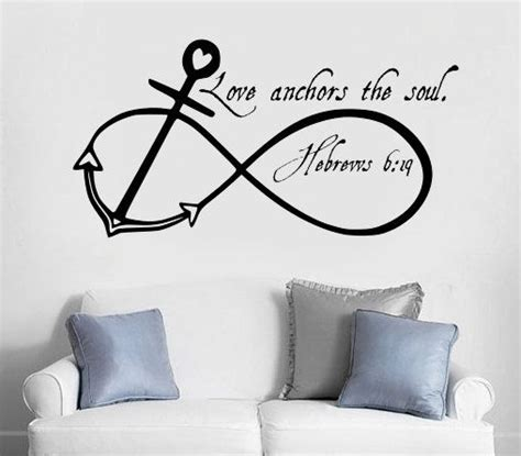 love themes in the bible love anchors the soul infinity anchor without the bible