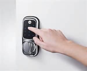 new y3 keyless code door lock wireless touch screen