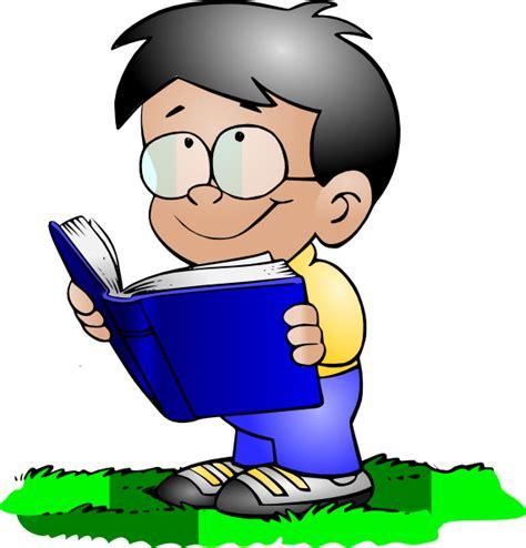 read clipart boy reading clip at clker vector clip