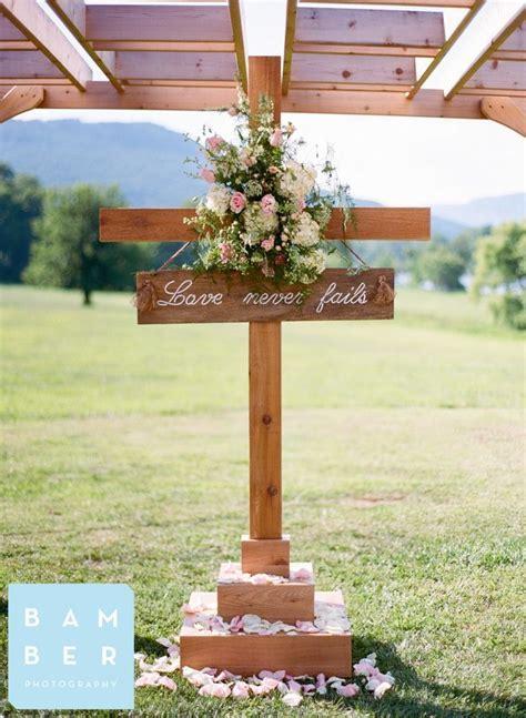 Outdoor Wedding Cross