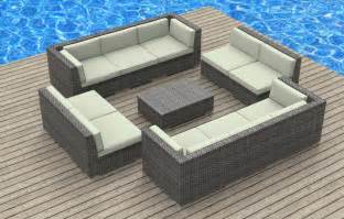 modern wicker sectional outdoor sofa sets outdoor sofa sets