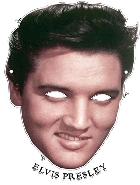elvis free printable masks oh my fiesta in english