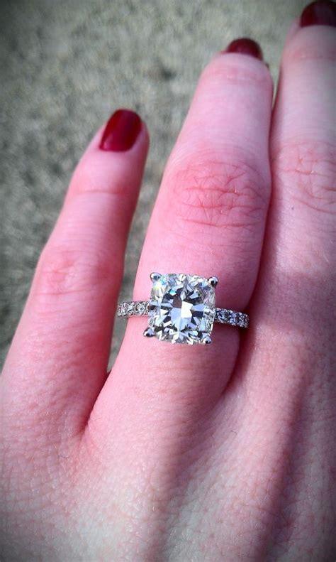 engagement rings cushion cut 2 carat cushion cut cushion cut ring 2 carat