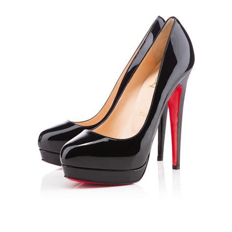 louboutin shoes christian louboutin alti 160mm patent pumps black cl0020
