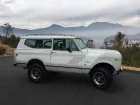 Jeep Scout For Sale International Scout Ii 4x4 Suv Bronco Jeep