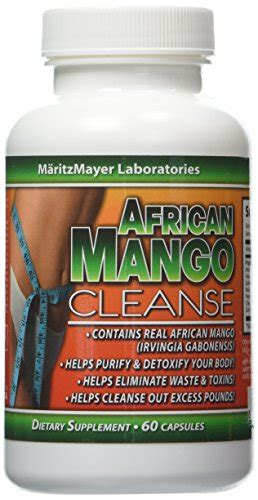 Root And Mango Detox by Mango Cleanse Weight Loss Detox 60 Capsules Per