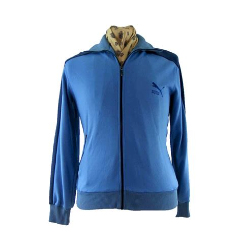 80s track top blue 17 vintage fashion