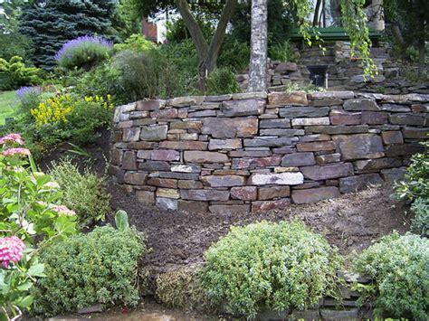 gartenmauern beispiele hortus gartenmauern