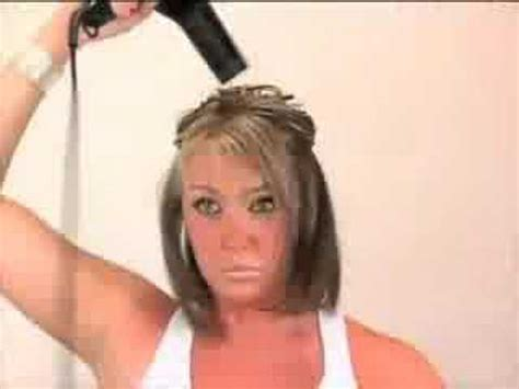 how to blow dry a bob hairstyle youtube short hair blow dry part 1 youtube