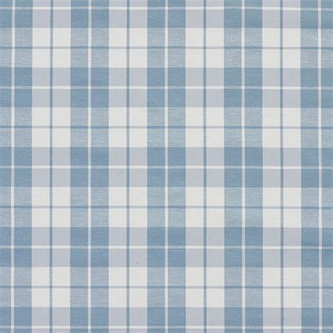blue white upholstery fabric aero blue and white plaid cotton heavy duty upholstery