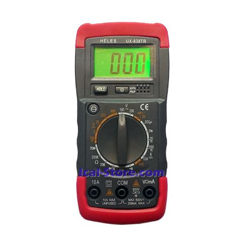 Multimeter Digital Heles multimeter digital heles ux 838 tr ical store ical store