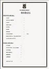 biodata format for alliance biodata for marriage format for woman created with www