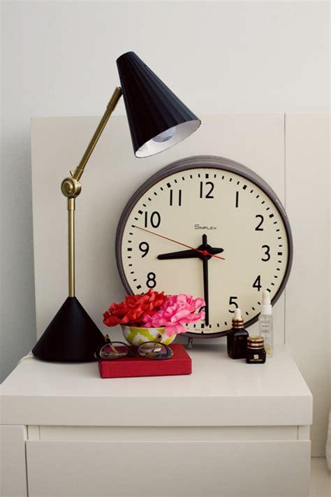 Bedside Table Clock Sneak Peek Erin Hiemstra And Chris Wick Design Sponge