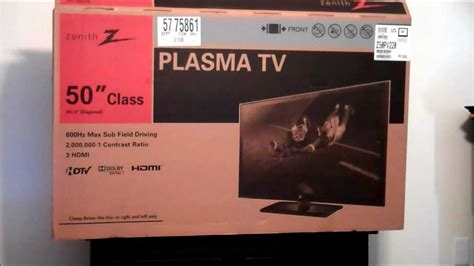 Unboxed Tv And Direct To Your Screen by Zenith 50 Quot Plasma Tv 1080p Model Z50pv220 From Sears For