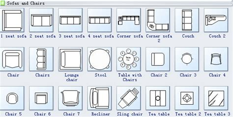 Electrical Architectural Symbols For Floor Plans by Make A Perfect Seating Plan Quickly