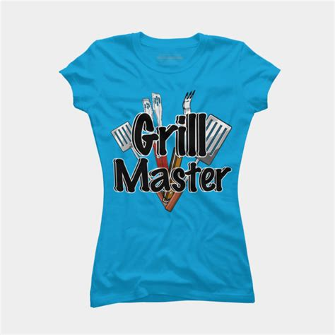 T Shirt The Grill Master grill master t shirt by gravityx9 design by humans