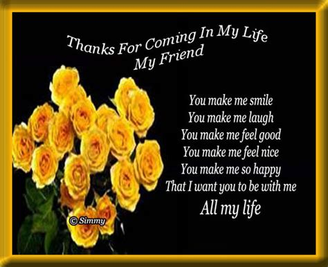 thanks for being my friend template cards thanks for being in my quotes quotesgram
