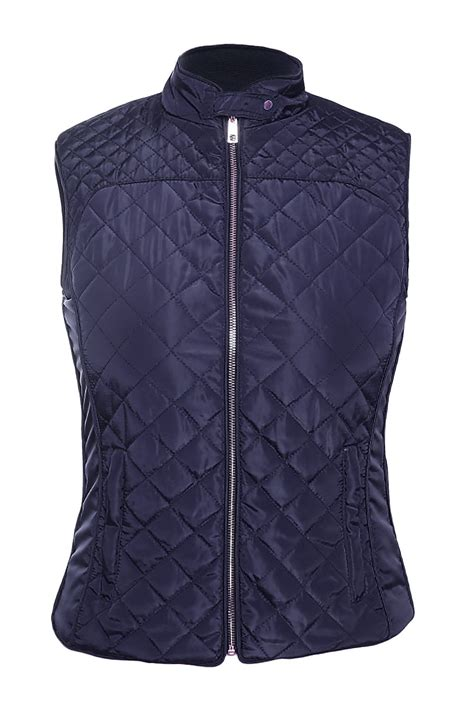 Quilted Vest by Blue Cotton Quilted Vest Coat Charming Wear