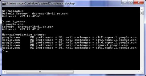 Dns Lookup Command Image Gallery Nslookup Command