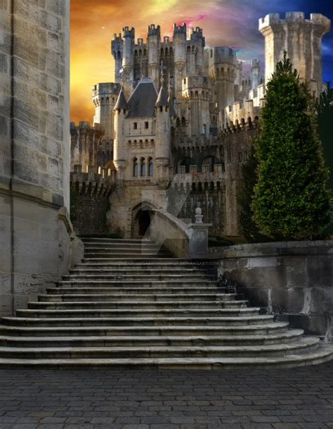 Castle Background Check Pre Made Background Stock Castle 7 By