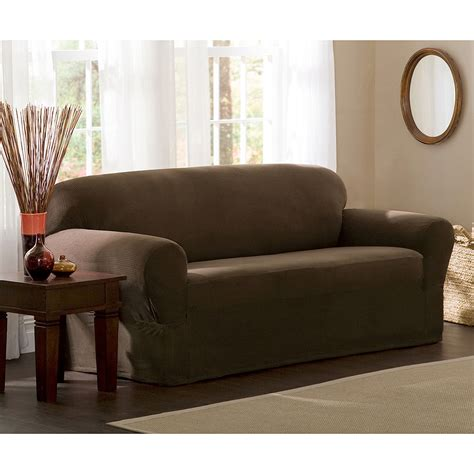 Stretch Sofa Slipcover Maytex Stretch 2 Sofa Slipcover Walmart