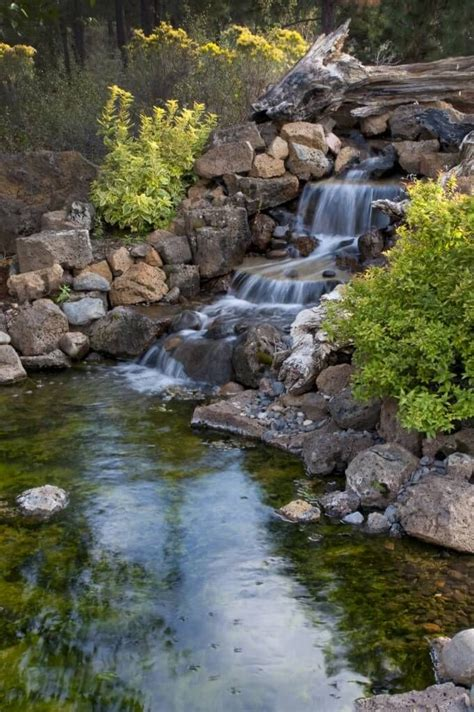 backyard waterfall and stream 1000 images about backyard waterfalls and streams on