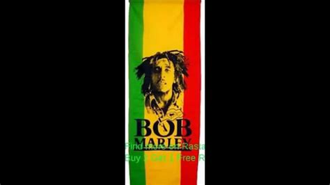 bob marley colors bob marley photo vertical flag 110x50 cm green gold