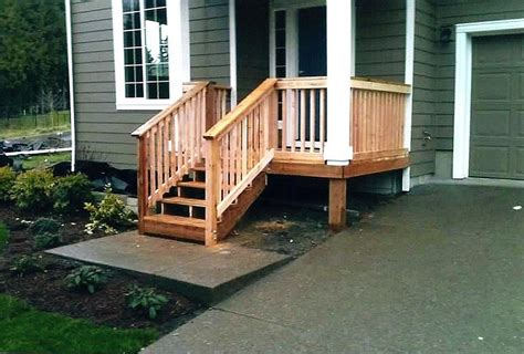 Front Porch Deck Ideas by Small Front Porch Deck Ideas