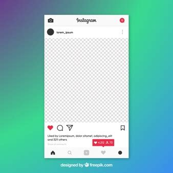 Instagram Frame Vectors Photos And Psd Files Free Download Instagram Post Planner Template