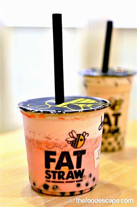 Fat Straw, Gandaria City, Jakarta   FOOD ESCAPE