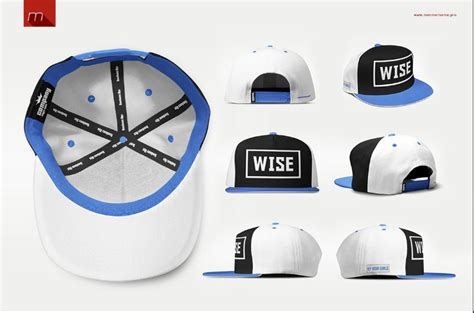51 Cap Mockup Psd And Hat Templates All Kinds Texty Cafe Snapback Design Template