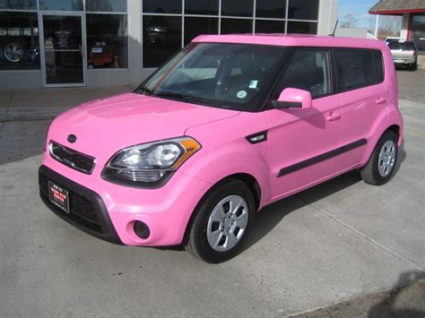 Pink Kia Pink Soul Cars For