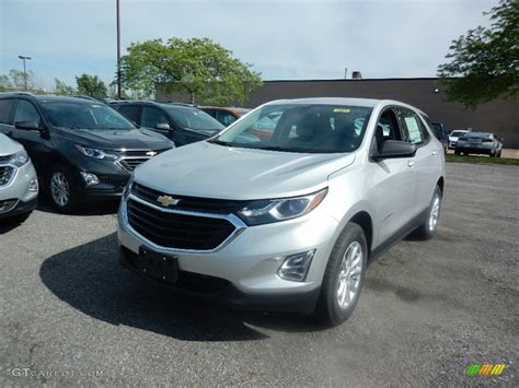 silver ls with white shades 2018 silver ice metallic chevrolet equinox ls 120609289