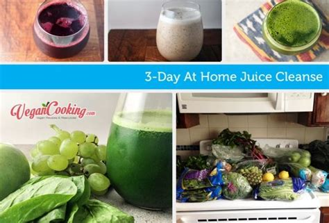 At Home Juice Detox Plan by 3 Day At Home Juice Cleanse Includes All The Recipes A