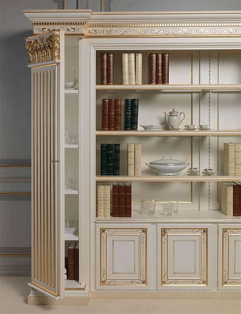 libreria classica libreria classica con lesena a scomparti vimercati meda