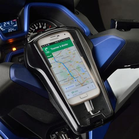 Mobile Motorrad Vespa 125 by Support Smartphone Honda Forza 125 Accessoire Gps Et