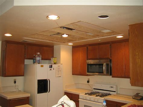 updating look of recessed fluorescent fixtures diy home