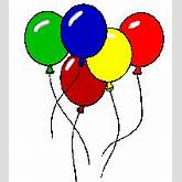 Bridal Association of America Wedding Clip Art Balloons